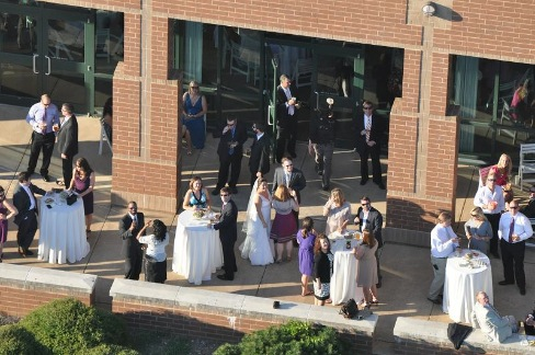 wedding at the Chattanooga Theatre Centre